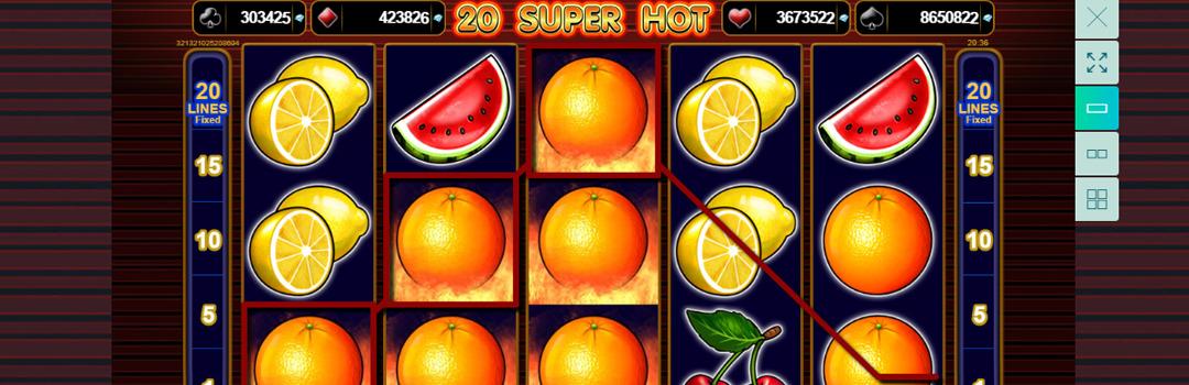 spiele 20 Super Hot Slot in der Schweiz