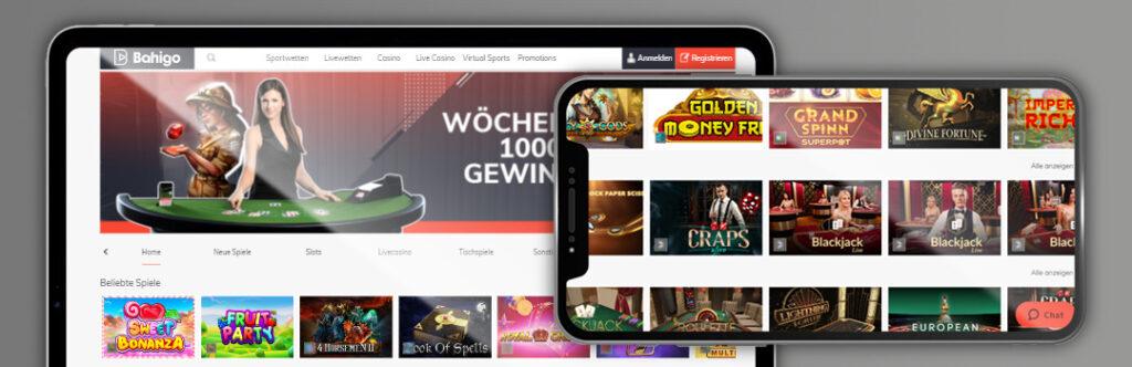 besten Bahigo Casino-Spiele auf dem Handy