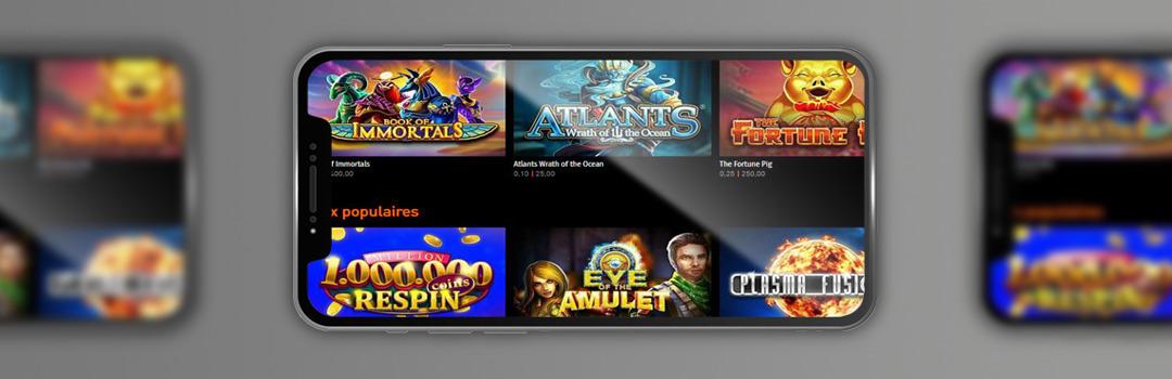 die besten Casino777-Spiele auf Mobilgeräten