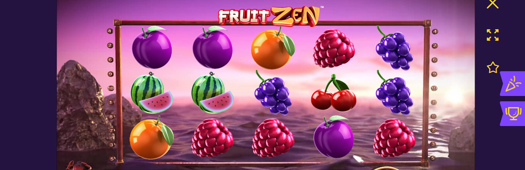 Fruit-Zen-Slot-Oberflaeche