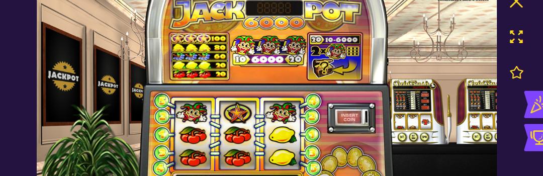 Jackpot 6000 Slot in der Schweiz spielen