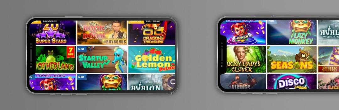 das beste Angebot an kostenlosen Spielen in Online-Casinos