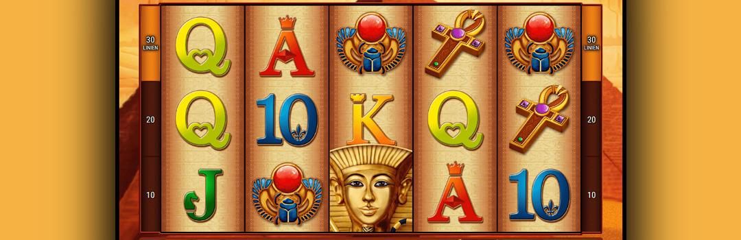 spielen Pharaohs Riches Slot in der Schweiz
