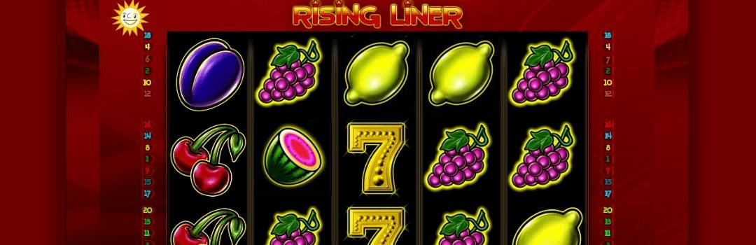 spielen Sie Rising Liner Slot in der Schweiz