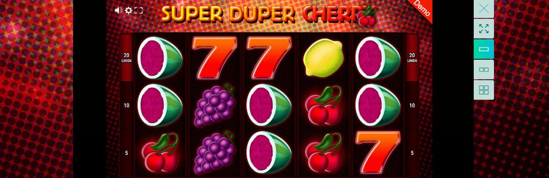 Super Duper Cherry Slot in der Schweiz spielen