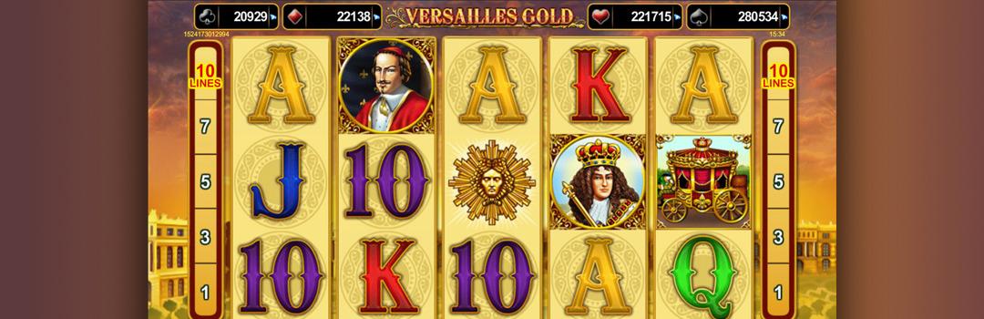 spielen Sie Versailles Gold Slot in der Schweiz