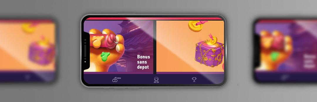 meilleurs bonus de casino mobile sans dépôt