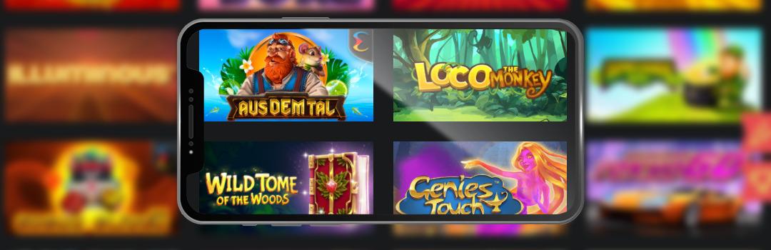 Die besten Spiele kostenlos in mobilen Casinos