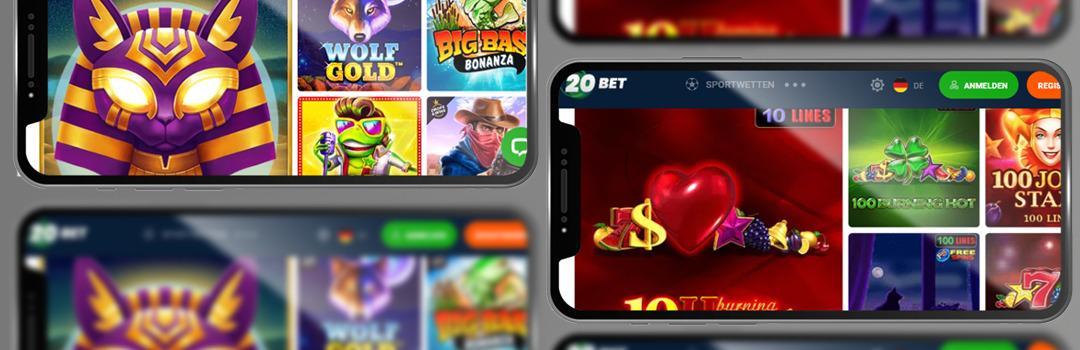 beste Spiele bei 20bet Casino in der Schweiz
